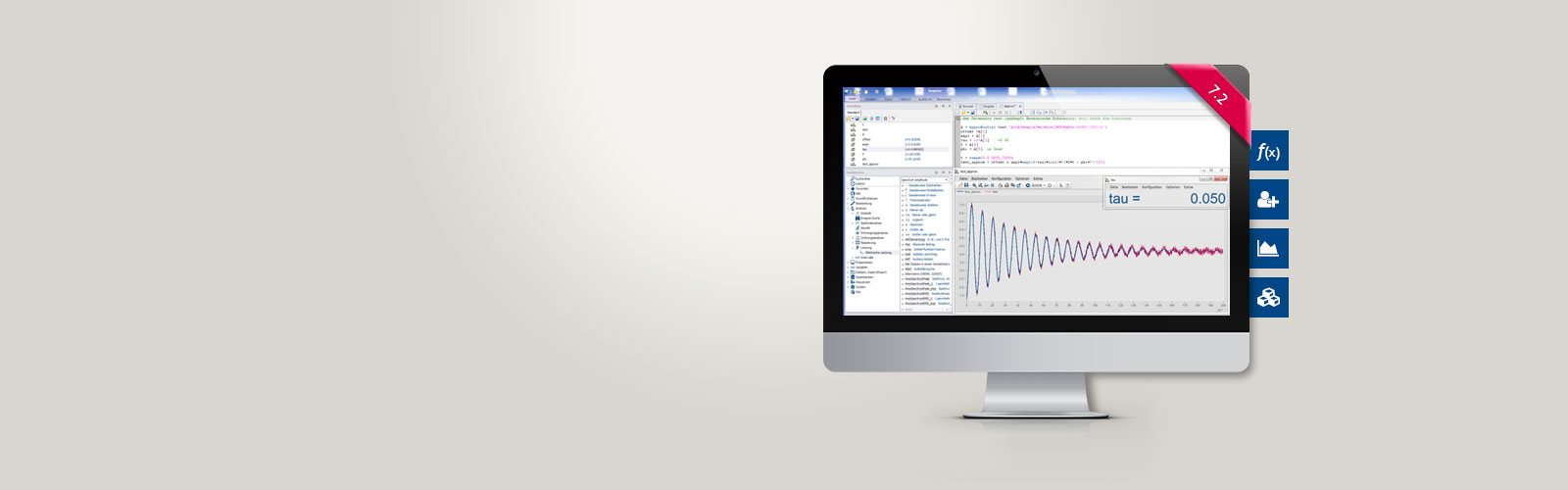 imc FAMOS 7.2 data analysis software