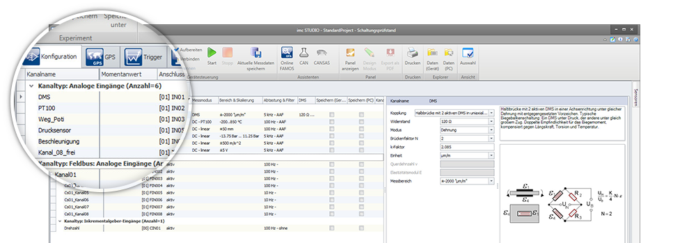 imc STUDIO: measurement & control software - imc Test