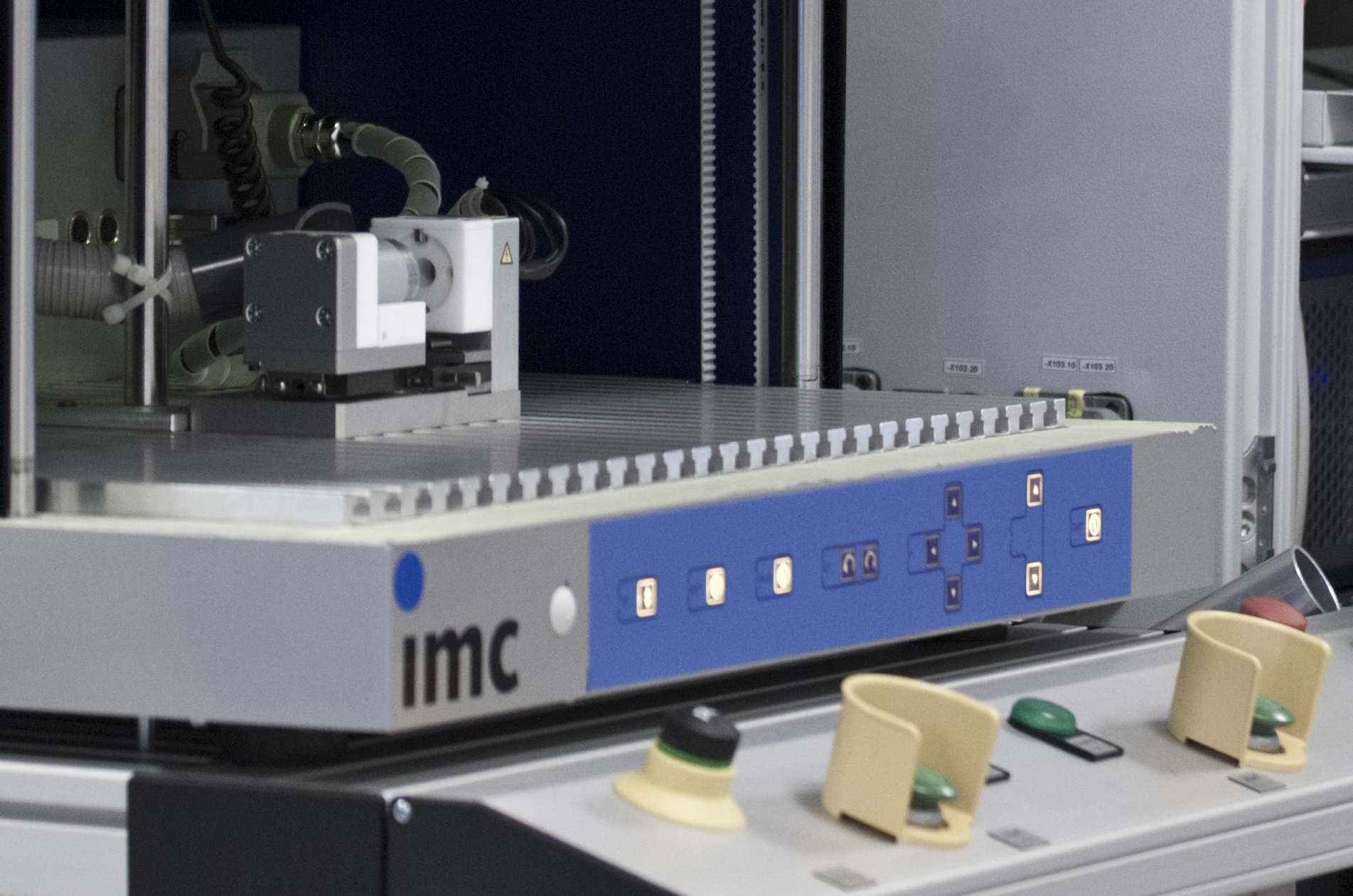 imc turnkey test stands